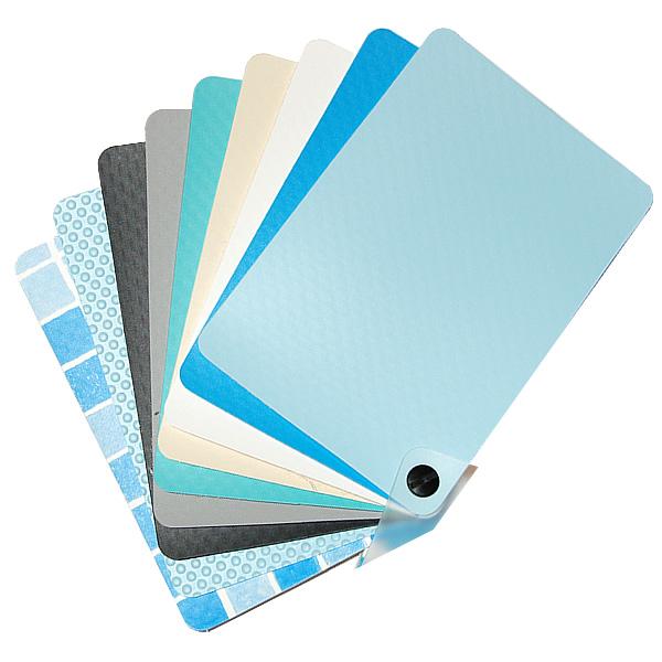 Membrana in pvc di colore sabbia for Colore per piscine