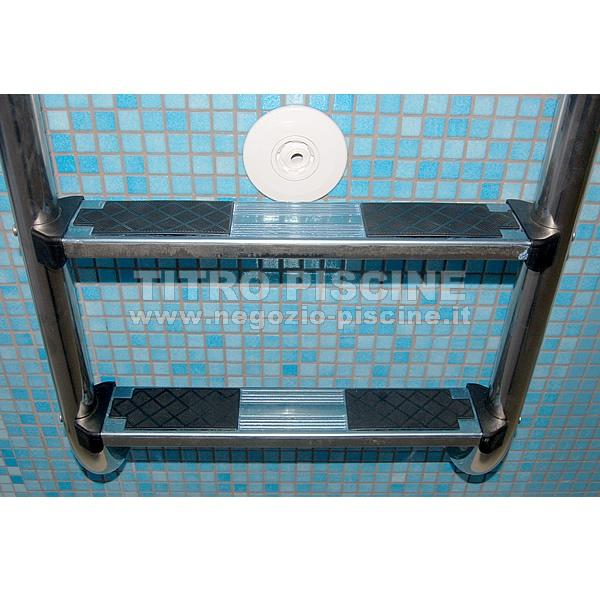 Scaletta per piscina astral standard con 3 4 o 5 gradini - Gradini per piscine ...