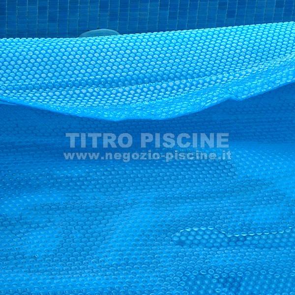 Copertura termica con bordatura sulle parti pi corte modello comfort - Copertura termica per minipiscina ...