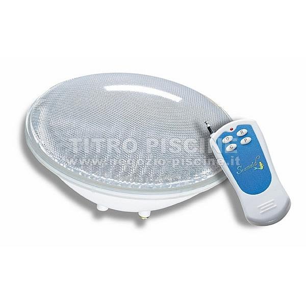 Lampada Led Con Telecomando.Lampada Led Colorata Rgb Subacquea Per Piscine Con Telecomando