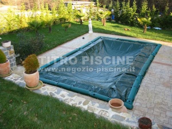 Copertura invernale supercover for Allergia al cloro delle piscine