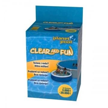 Clear and Fun - disinfezione per piscine per bambini