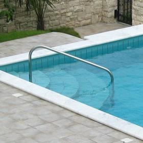 Maniglia per scale in piscina fi 43