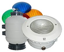 Illuminazione per piscine fari e lampade
